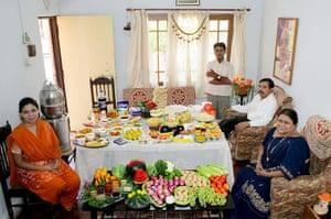 Hungry Planet: Patkar Family - India