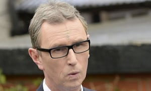 Nigel Evans said he was determined not to let the rape allegations destroy him or his career