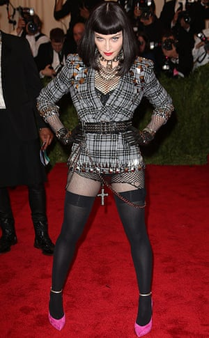 Madonna: Met Ball celebrating the Punk: Chaos To Couture