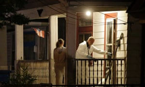 Investigators enter the house on the west side of Cleveland where police say the three women were found. Read more on the story.