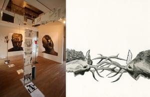 Dave McKean: Rut installation