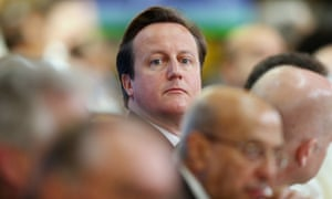 David Cameron attends the Somali conference in London, England. The international conference aims to help rebuild the east African country after more more than two decades of conflict.