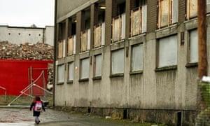 A housing estate in Glasgow
