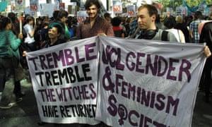 Slut walk, University College London Union (UCLU)