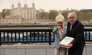 Boris is having a busy day. First horse riding and now pulling faces at Barbara Windsor! Boris Johnson and actress Barbara Windsor promote 'The Big Lunch' outside City Hall. The lottery-funded Big Lunch takes place on June 2 and encourages Londoners to get together with their neighbours over lunch to build friendships and community spirit.