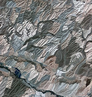 Satellite Eye on Earth: Rolling hills of farmland in the northwest United States