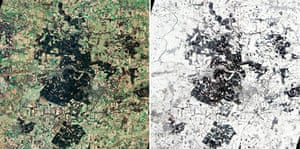 Satellite Eye on Earth: Thetford Forest, UK