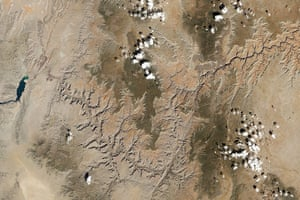 Satellite Eye on Earth: The Colorado River and through the Grand Canyon