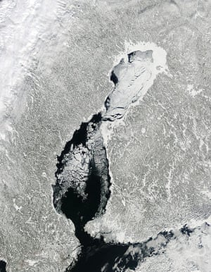 Satellite Eye on Earth: Ice in the Gulf of Bothnia
