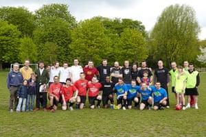 Three-sided football: Three-sided football