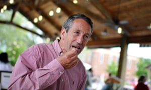 Mark Sanford on the day of his comeback victory in South Carolina's first congressional district.