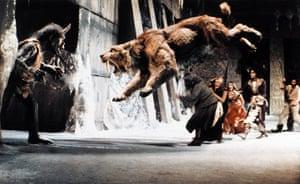 Ray Harryhausen obit: Sinbad & The Eye of the Tiger, 1977