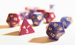 Dungeons & Dragons dice