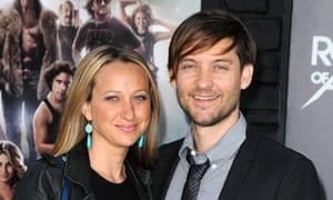 With his wife, Jennifer Meyer