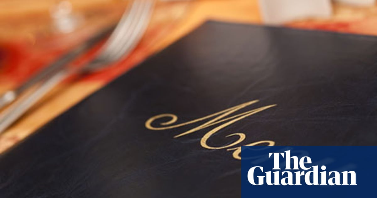 The psychology of menus | Food | The Guardian