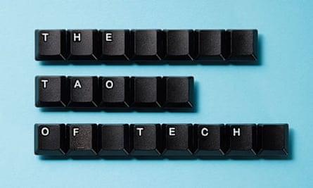 Computer keys spelling 'The Tao of tech'