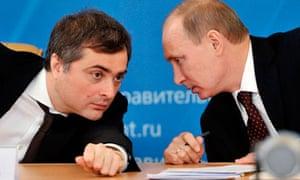 Surkov and Putin