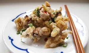 The perfect salt and pepper squid.