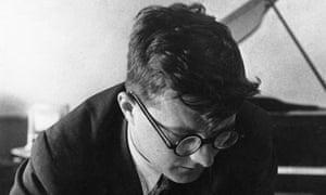 Russian Composer Dmitry Shostakovich