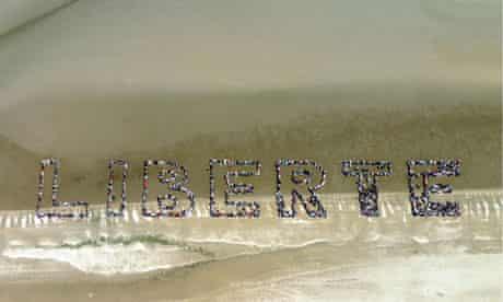 Liberté on Utah beach
