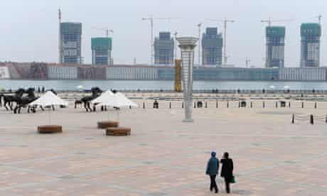 China ghost city