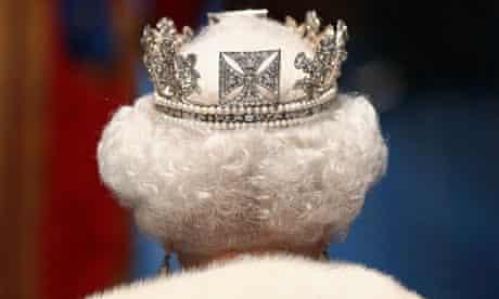 Back of Queen's head