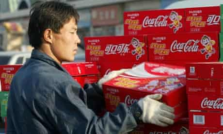 Coca-cola, sold in Beijing