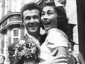 Bryan Forbes wedding