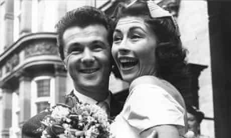 Bryan Forbes and Nanette Newman