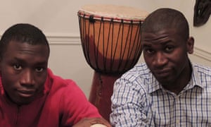 Comic John and Charles Agbaje