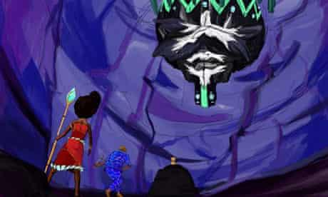 Comic Zahara meets Spider