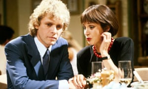 Paul Nicholas as Vince and Jan Francis as Penny in Just Good Friends