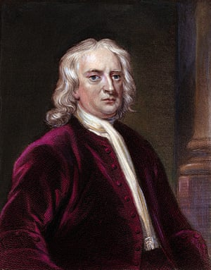 The 10 best: Portrait of Sir Isaac Newton by Edward Scriven