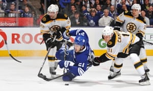 ba50303d7e0 Boston Bruins beat Toronto Maple Leafs in NHL playoffs overtime ...
