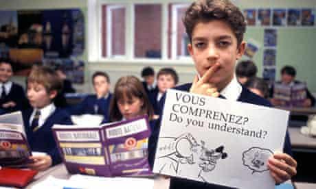 Language teaching class