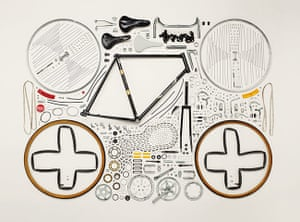 Things Come Apart: Disassembled Bicycle