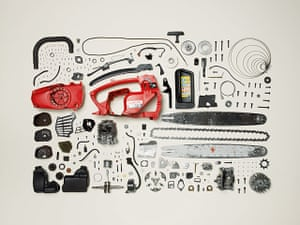 Things Come Apart: Disassembled Chainsaw