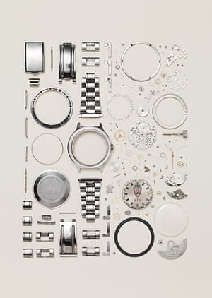 Things Come Apart: Disassembled watch