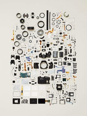 Things Come Apart: Disassembled camera
