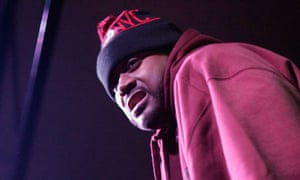 Ghostface Killah onstage at the 2013 SXSW festival