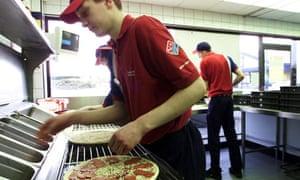 Domino's pizza odering service