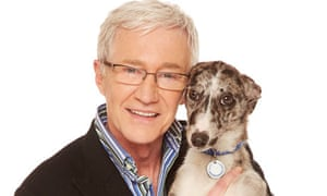 Paul O'Grady and dog