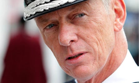 The Metropolitan police commissioner, Bernard Hogan-Howe