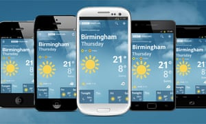 Bbc weather app launches for iphone and android smartphones media bbc weather app publicscrutiny Choice Image