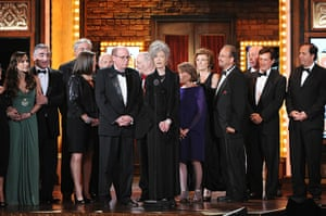 Tony awards: The cast and producers from Who's Afraid of Virginia Woolf