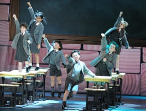 Tony awards: The cast of Matilda The Musical perform at the 67th Annual Tony Awards