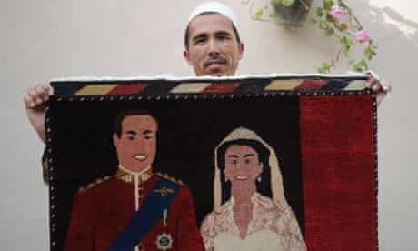 Royal wedding rug