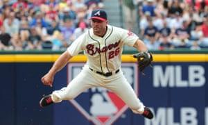 Dan Uggla of the Atlanta Braves