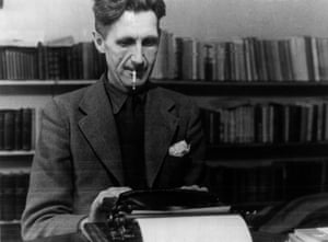 George Orwell, hot writer on Amazon.com.