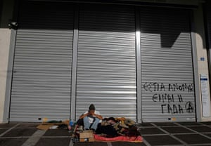 From the agencies : Yannis Behrakis on unemployment in Greece